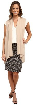 Calvin Klein Flyaway Sweater Vest $99.50 thestylecure.com