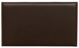 Sacha Red Barrel Studio Leather Upholstered Panel Headboard Red Barrel Studio