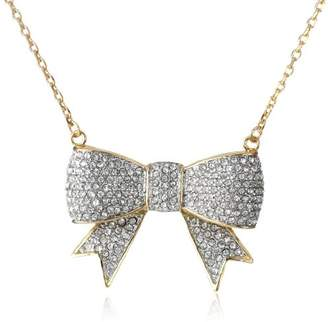 Juicy Couture Pave Bow Necklace