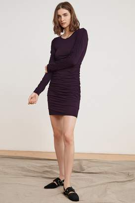 Velvet by Graham & Spencer SHASTA GAUZY WHISPER SHIRRED DRESS