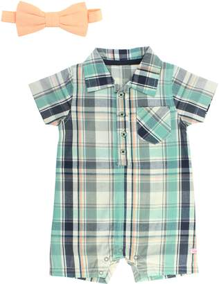 50e52f1ab Baby Boy Romper With Tie - ShopStyle