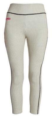 Fendi Check-Print Leggings