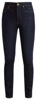 Khaite - Vanessa High Rise Skinny Leg Jeans - Womens - Indigo