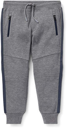 Ralph Lauren Childrenswear Contrast-Sides Jogger Pants, Size 5-7