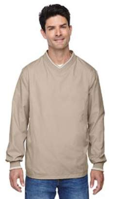 Ash City - North End Adult V-Neck Unlined Wind Shirt - PUTTY 734 - L 88132