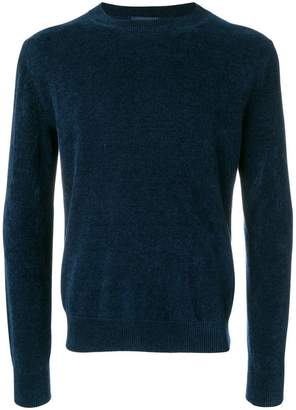 Ballantyne ribbed crew neck pullover