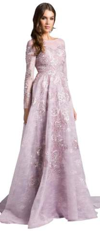 Dresses By Lara Princess Layered Gown