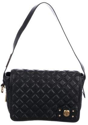Marc Jacobs Quilted Push-Lock Shoulder Bag