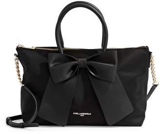 Karl Lagerfeld Paris Kris Bow Crossbody Bag