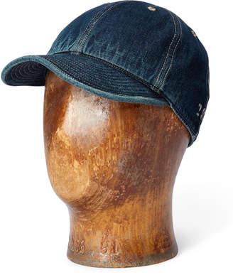 Cotton Denim Service Cap