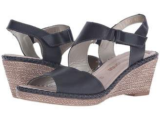 Rieker D6743 Ursula 43 Women's Wedge Shoes