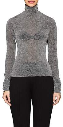 Philosophy di Lorenzo Serafini Women's Lamé Turtleneck Top