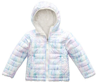 The North Face Reversible Mossbud Swirl Hooded Jacket, Size 2-4T
