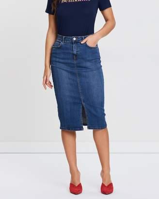 Dorothy Perkins Mid Pencil Skirt