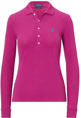 Polo Ralph Lauren Skinny Fit Stretch Polo Shirt $115 thestylecure.com