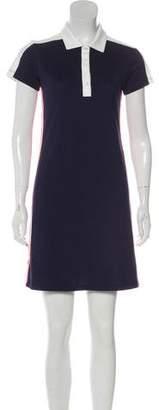 Tory Burch Sport Short Sleeve Mini Dress