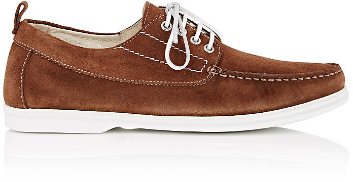 Barneys New York Barneys New York BARNEYS NEW YORK MEN'S SUEDE BOAT SHOES