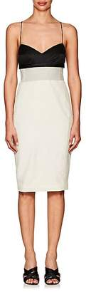 Narciso Rodriguez Women's Wool & Silk Fitted Slipdress