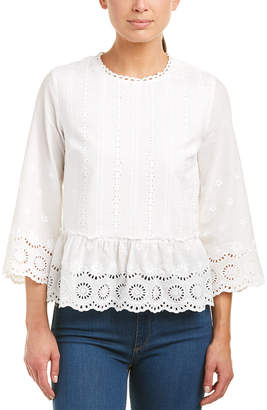 ENGLISH FACTORY Eyelet Top