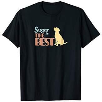 Sugar the Dog Personalized Cute Gift T-Shirt Womens & Girls