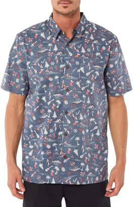O'Neill Jack Cool Yule Regular Fit Sport Shirt