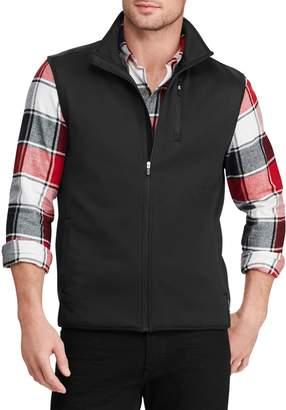 Chaps Water-Resistant Fleece Vest