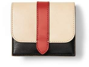 Banana Republic Color-Blocked Snap Card Case