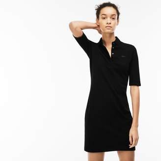 b3910098378609 Lacoste Women s Stretch Cotton Pique Polo Dress