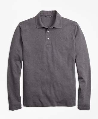 Brooks Brothers Slim Fit Supima Cotton Long-Sleeve Polo Shirt