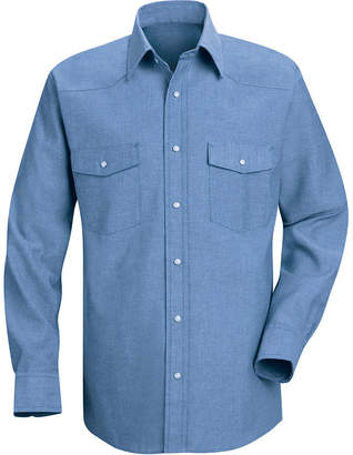JCPenney Red Kap Deluxe Western-Style Shirt