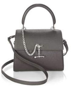 Luana Italy Paley Leather Mini Satchel