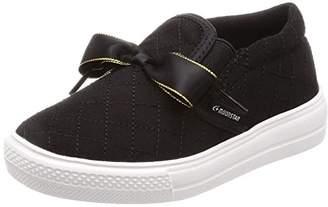 MoonStar (ムーンスター) - [ムーンスター] スリッポン 通学履き スニーカー 子供 靴 ゆったり SG J481 ブラック 24.5 cm 2E