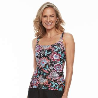 Croft & Barrow Women's D-Cup Tankini Top
