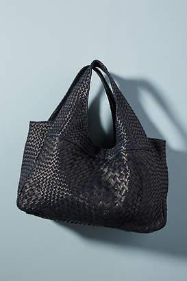 Claramonte Pablo Woven Leather Shoulder Bag