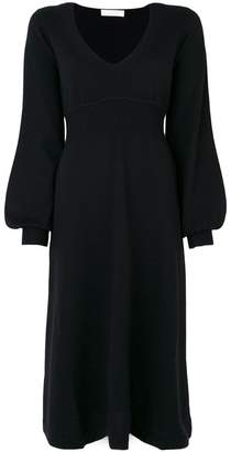 Chloé bell sleeved knitted dress
