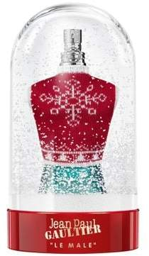 jean paul gaultier le male holiday snow globe collector eau de toilette - Large Christmas Snow Globes