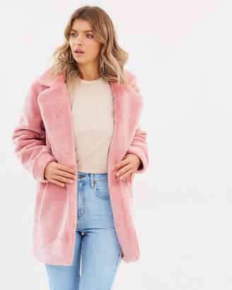 Atmos & Here ICONIC EXCLUSIVE - Nova Faux Fur Coat