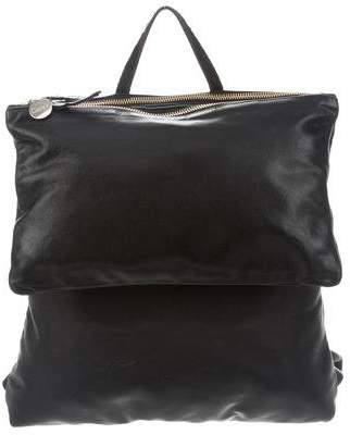 Clare Vivier Agnes Leather Backpack