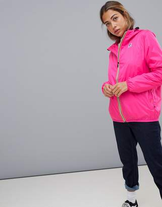 K-Way K Way Le Vrai 3.0 Claude waterproof jacket in pink