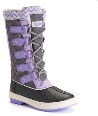 Totes Selena Girls' Winter Duck Boots $59.99 thestylecure.com