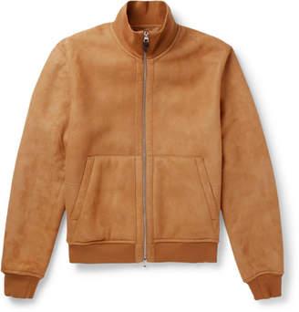 Dunhill Shearling Blouson Jacket