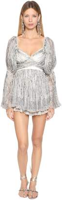 Etro Printed Silk Georgette Mini Dress