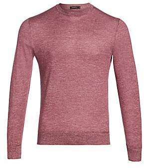 Ermenegildo Zegna Men's Cashmere-Blend Crewneck Sweater