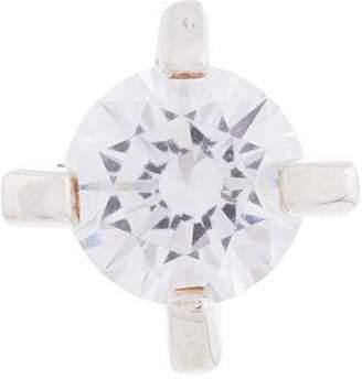 E.m. crystal stud earring