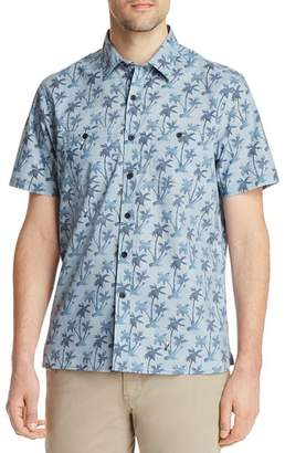 Michael Bastian Palm Tree Short Sleeve Shirt - 100% Exclusive