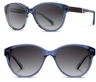 Shwood 'Madison' 54mm Polarized Sunglasses