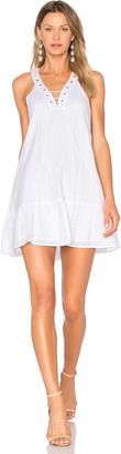 J.O.A. Lace Up Mini Dress $79 thestylecure.com