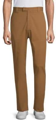Salvatore Ferragamo Workman Straight-Leg Pants