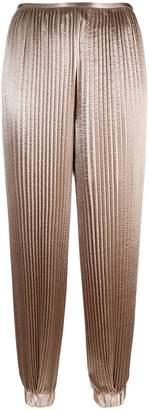 Krizia cropped pleated trousers