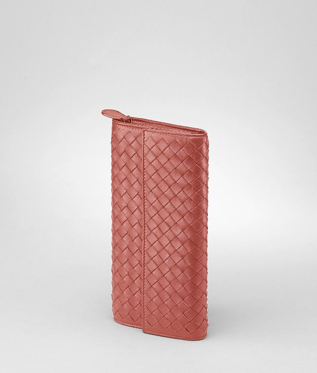 Bottega Veneta Boucher intrecciato nappa continental wallet